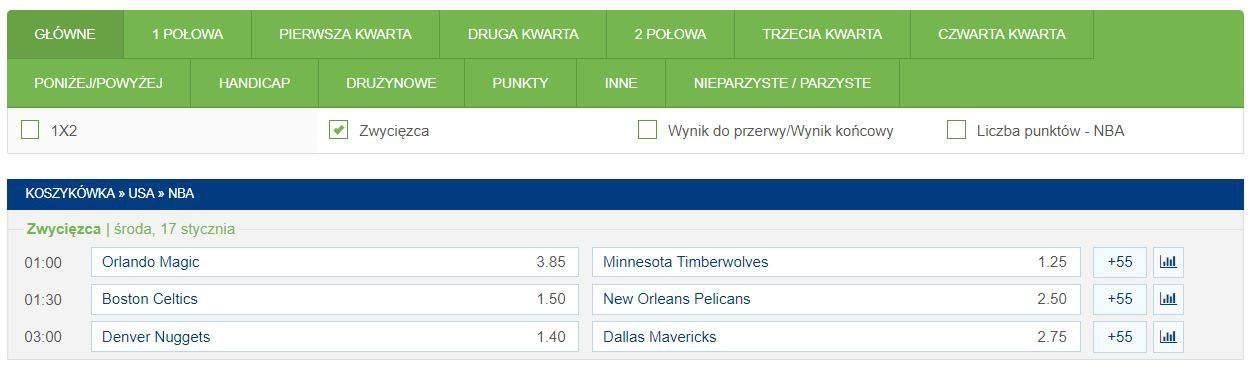 Gdzie oglądać mecze NBA w internecie