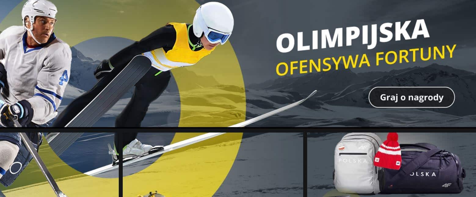Konkurs olimpijski w Fortuna Online! Wygraj gadżety i bonusy!