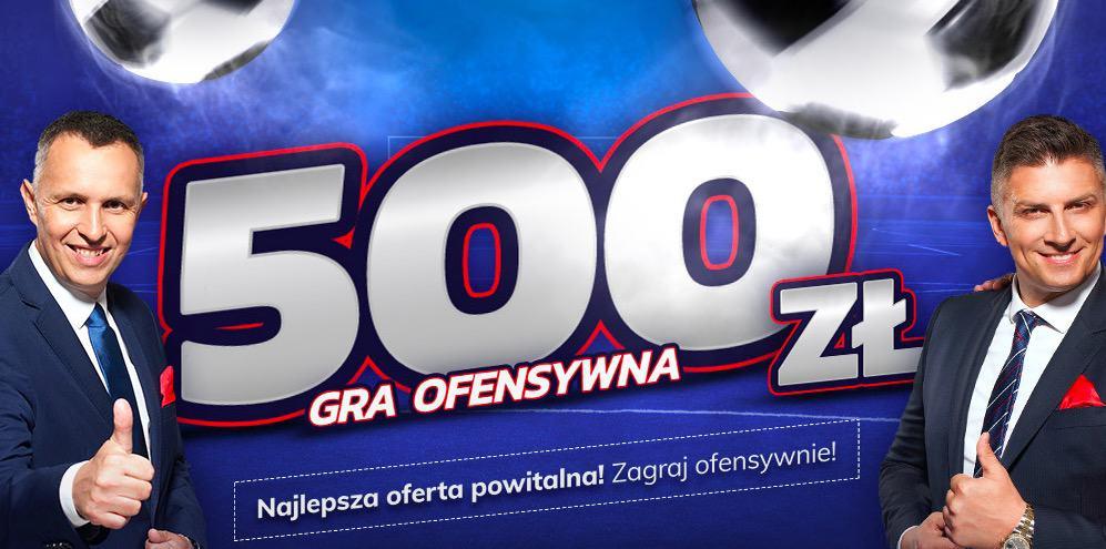 Bonus powitalny 500 PLN w eToto