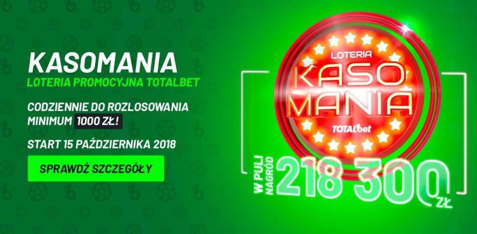 Rusza loteria z nagrodami w Totalbet!