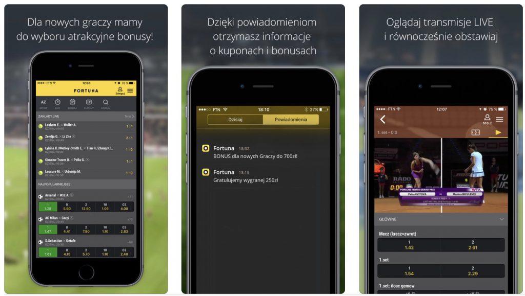 Fortuna Online iOS