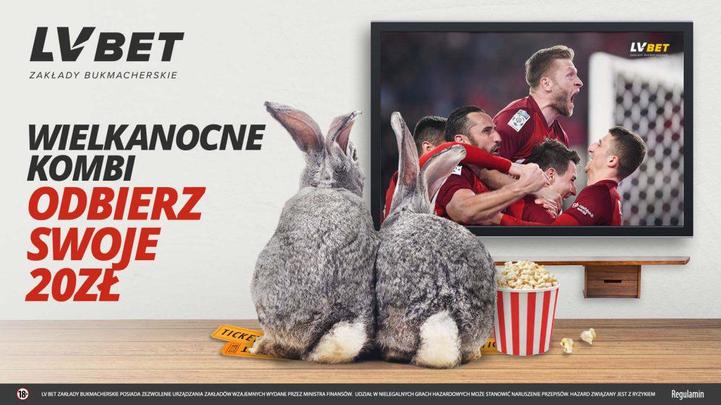 W LvBET dostajesz 20 PLN na Wielkanoc 2019!