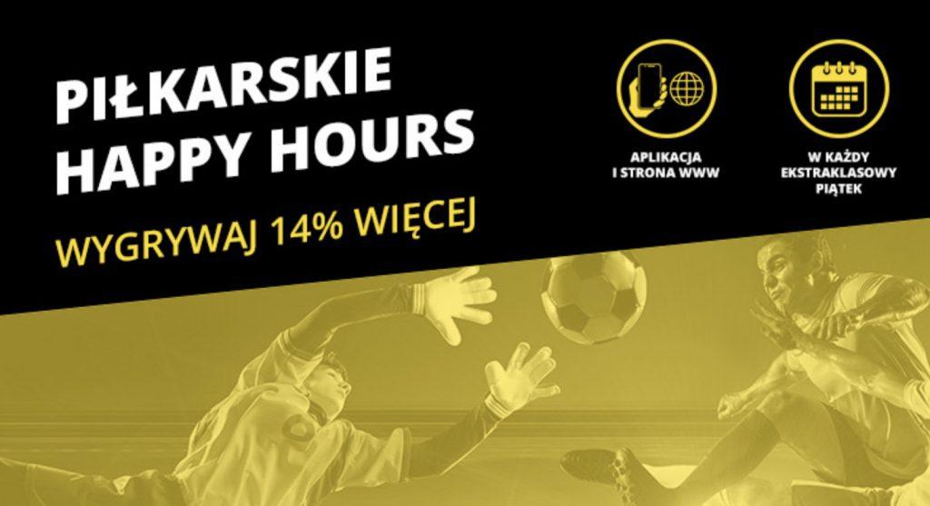 Fortuna Happy Hours to większe wygrane na Ekstraklasę i nie tylko!