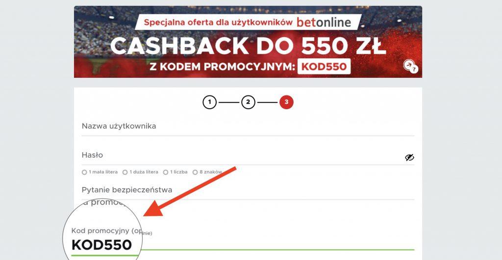 Betclic kod promocyjny 2020. Cashback do 550 PLN - największy w Polsce!